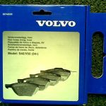 GENUINE VOLVO V50 S40 C30 FRONT BRAKE PADS 30742030 BRAKES