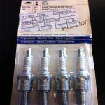 GENUINE VOLVO SPARK PLUGS x 4 270746 940 740 240 B230F B200F B230FT B200FT